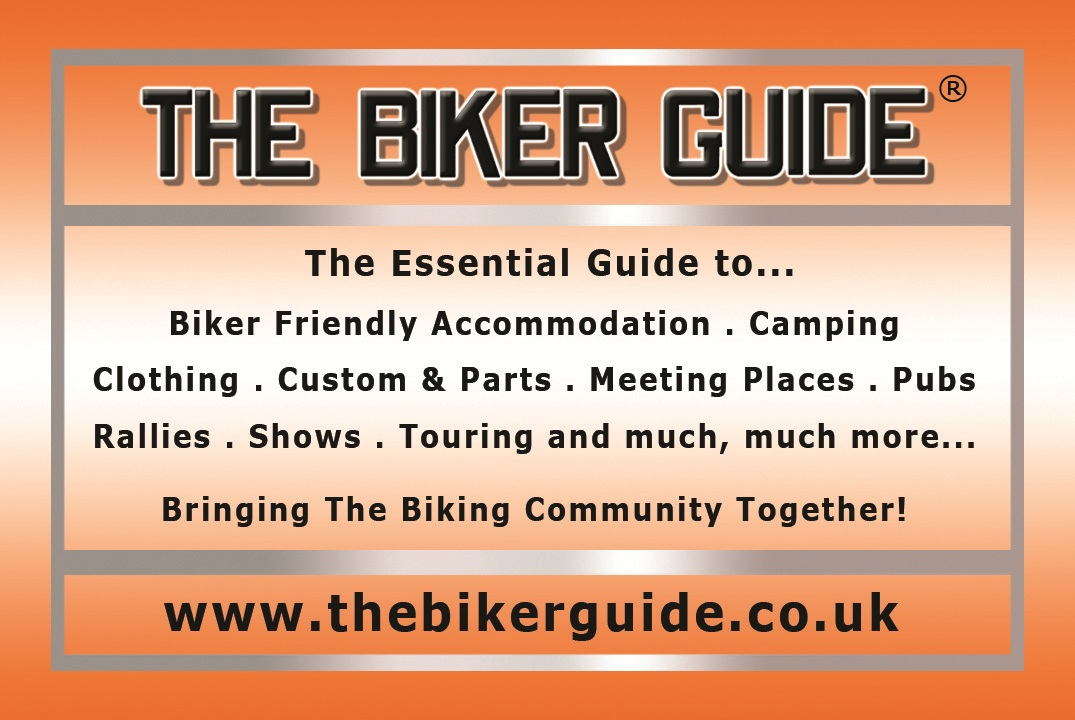 The Biker Guide, Soldiering On, Grand Raffle, 18 Apr 15